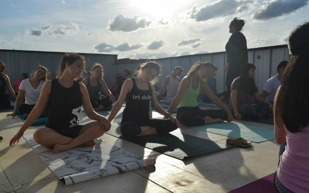 Rooftop Yoga at Burlington Beer Works