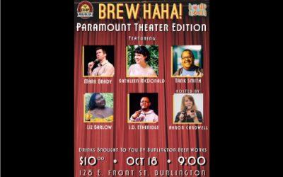 Brew HaHa! Paramount Theater Edition